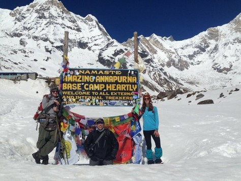 Anna Purna Base Camp