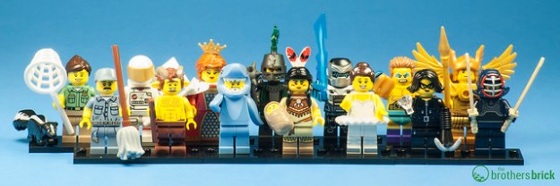 Collectible Minifigs Series 15