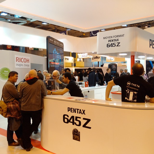 Pentax 24x36 and Ricoh booth 2/2