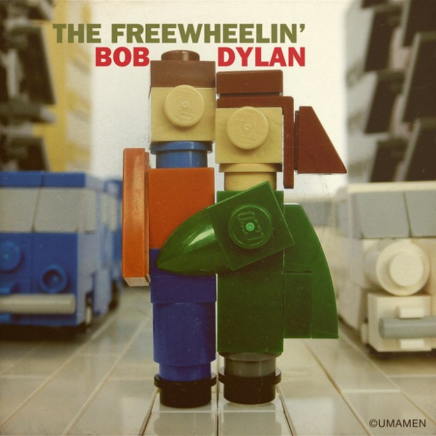 "LEGO: Bob Dylan ""The Freewheelin'"""