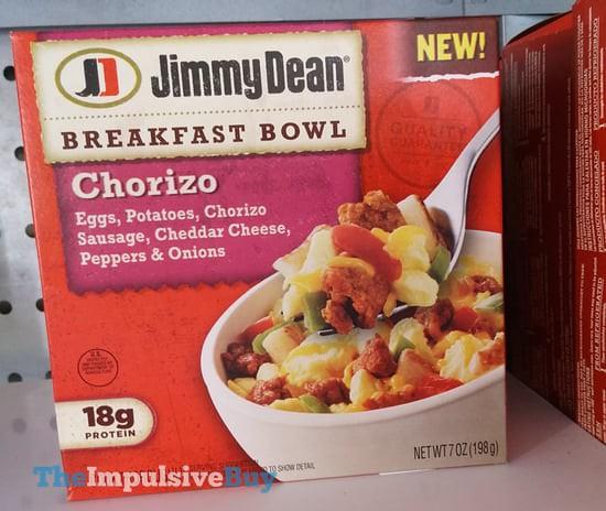 Jimmy Dean Chorizo Breakfast Bowl