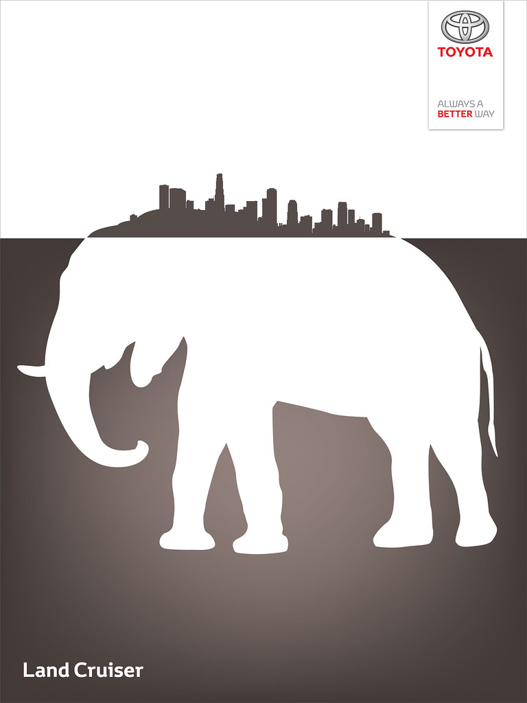 Toyota Land Cruiser - Wild City Elephant