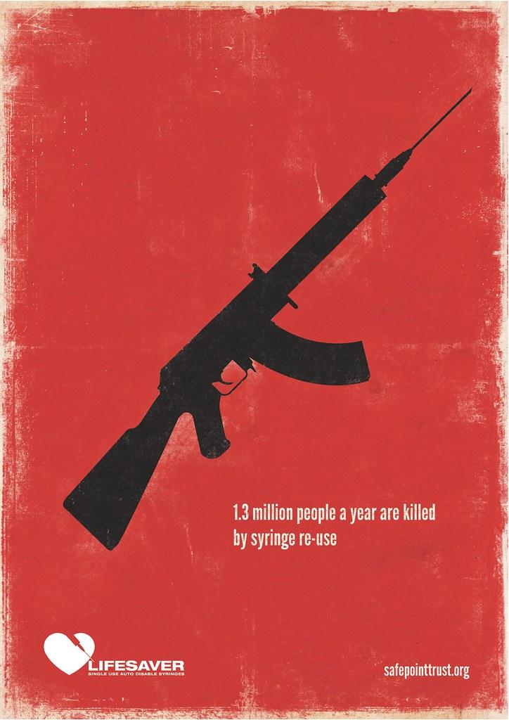 Safepoint Lifesaver Syringes - Gun