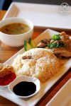 Sydney Food Blog Review of Little Hutong, Little Bay: Hainanese Chicken Rice, $14