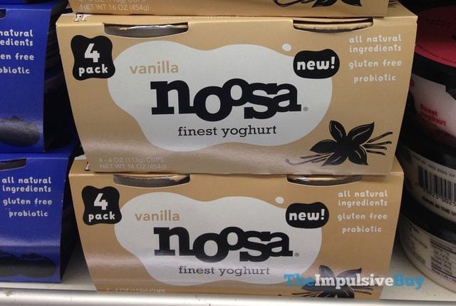 Noosa Vanilla Yoghurt 4-Pack