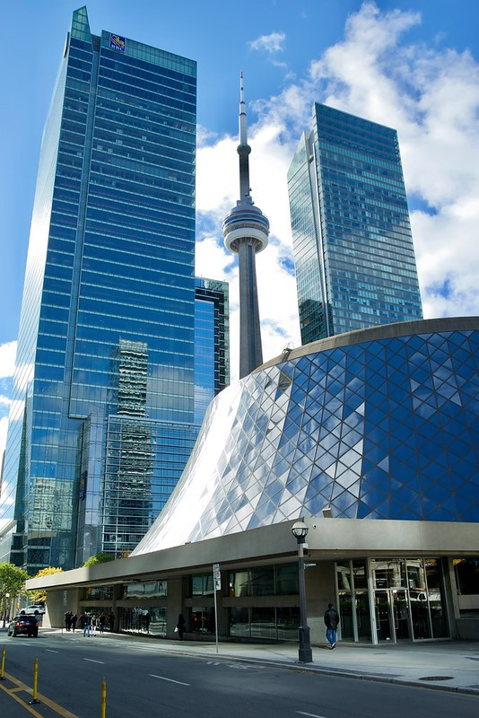 Toronto - CN Tower - Roy Thompson Hall