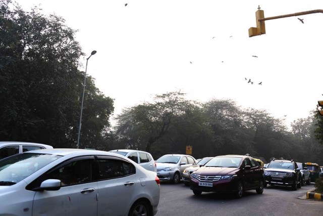 City Season - Living With PM 2.5, Lodhi Gardens and Elsewhere