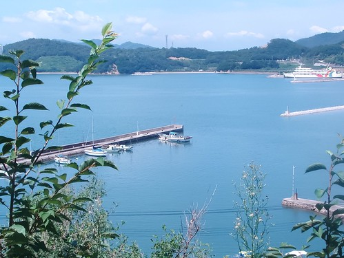 小豆島 池田町の堤防