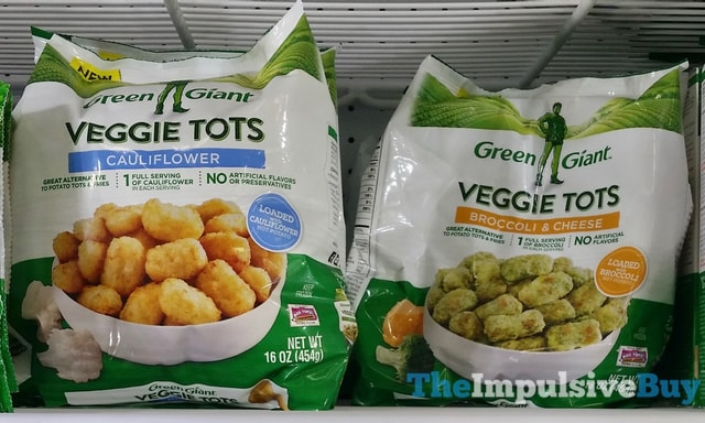 Green Giant Veggie Tots (Cauliflower and Broccoli & Cheese)