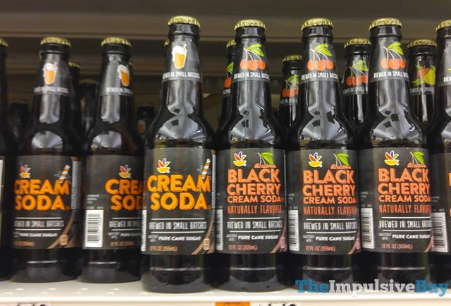 Giant Craft Cream Soda and Black Cherry Cream Soda