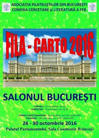 Expoziția de literatură FILA-CARTO 2016