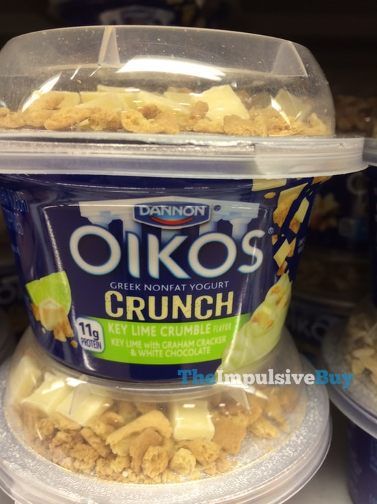 Dannon Oikos Crunch Key Lime Crumble