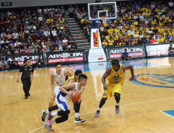 Ateneo vs UST basketball game