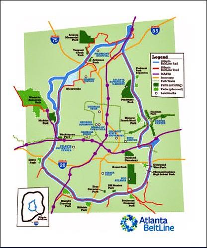 beltline map