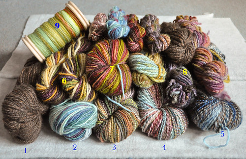 Tour de Fleece 2011 total spinning