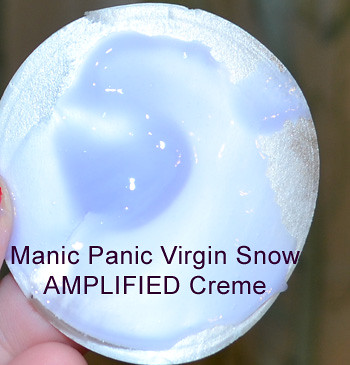 Manic Panic Virgin Snow Amplified