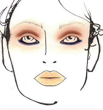Haider Ackermann Photos of Makeup