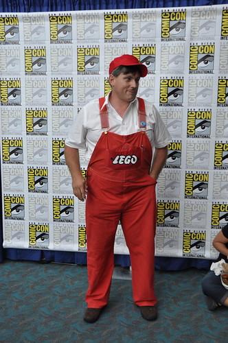 Bruno Todd as vintage LEGO doll