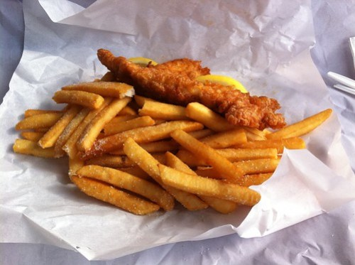 The Groper and His Wife, Battered Fish & Chips