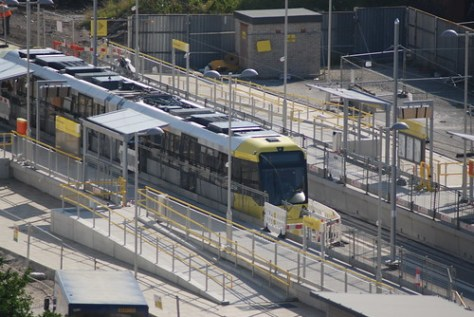 New Islington Tram test