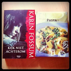 Kookboeken en een thriller...