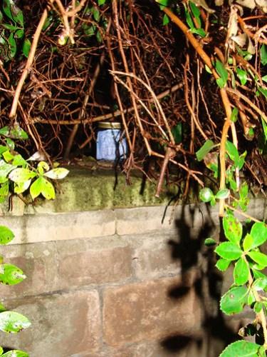 Jar No 300 in situ