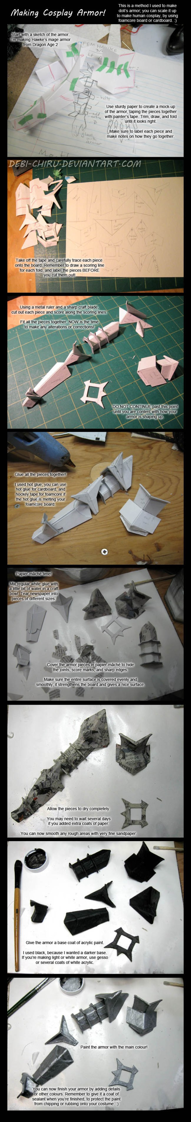 How to Make Cosplay Armors