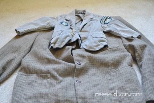 Tweed Blazer Step 1