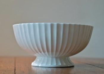 vintage royal worcester pedestal bowl