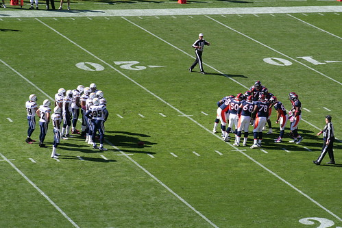 Broncos vs. Chargers 10-9-11