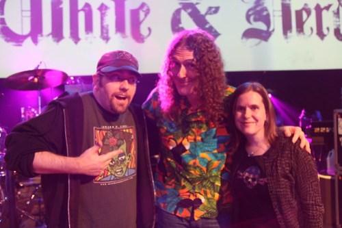 Brian, Weird Al, & Anne