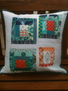 The perfect pillow from Darci @ Stitches & Scissors