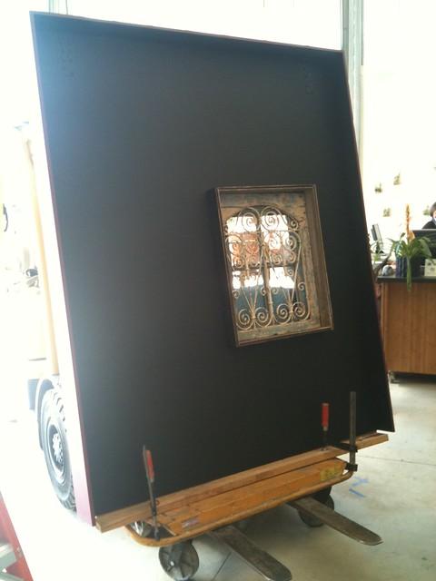 New Wall Set up