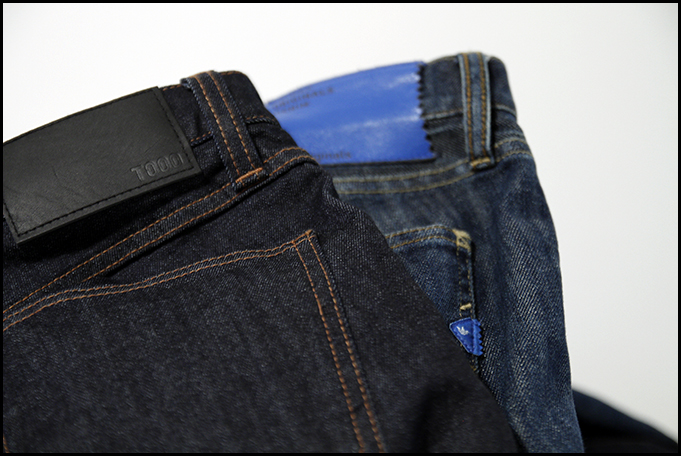Tuukka13 - New Every Day Denim by Uniqlo T000 SKinny Tapered and Adidas Originals Denim Rekord 8 Bits Blue - 6