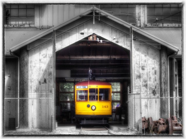Trolley No. 143 by Scott Loftesness