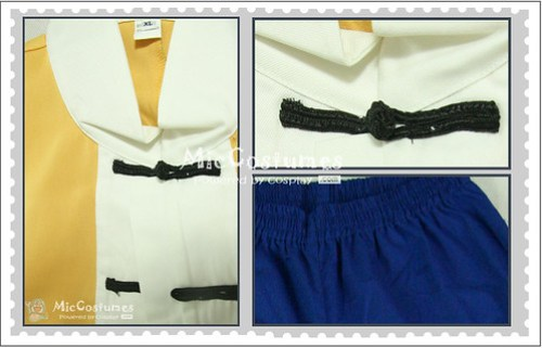 Dragon Ball Roshi Cosplay Costume_1