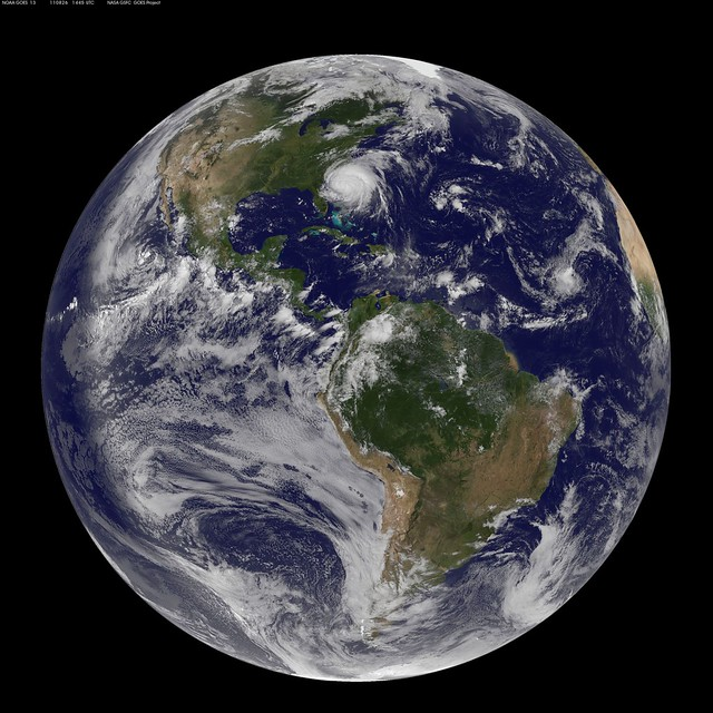 Full Disk Image of Earth Captured August 26, 2011