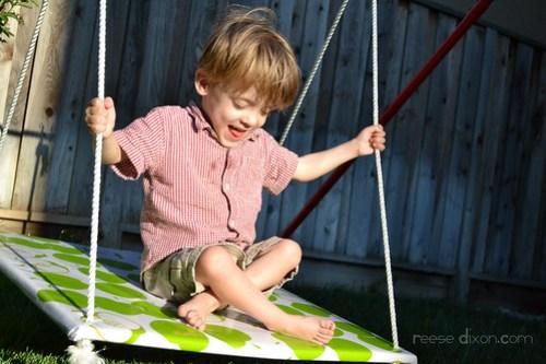 Atti on his swing