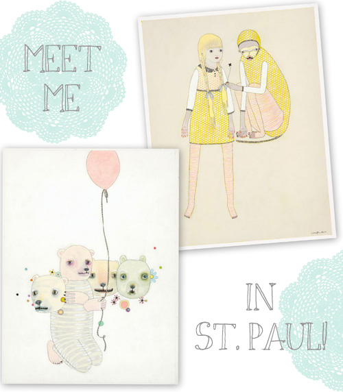 Meet Me at The Creative Connection in St. Paul Next Week!