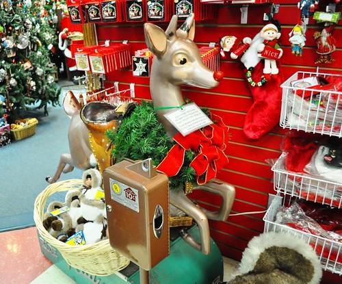 Rudy, Santa Claus House, North Pole, Alaska