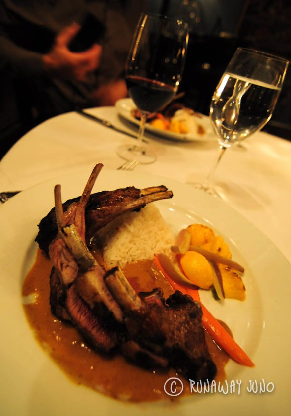 Yono's Grilled New Zealand Rack Lamb