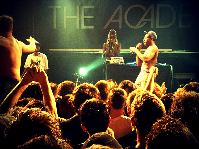 Tuukka13 - OFWGKTA Tyler the Creator at The Academy, Dublin 2011 - 1