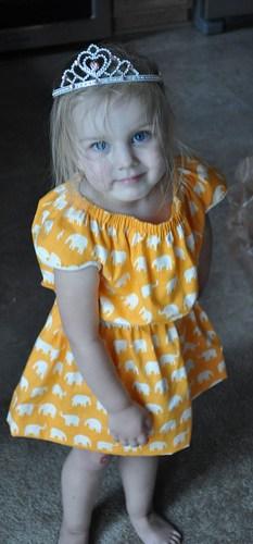 Modeling the dress