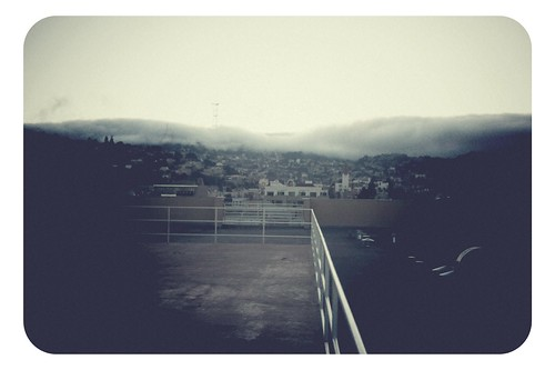 West toward Karl the Fog