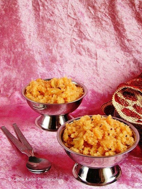 Thulli - Cracked Wheat Dessert