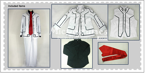 Vampire Knight Men Night Department School Uniform Cosplay Costume