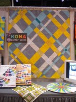 RK Kona solids... and they have cotton silk prints that are to die for.
