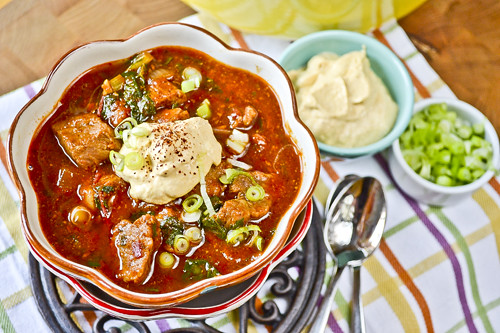 Pumpkin & Pork Chili 10