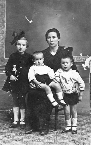 Viuda e hijos de Jose Huerta