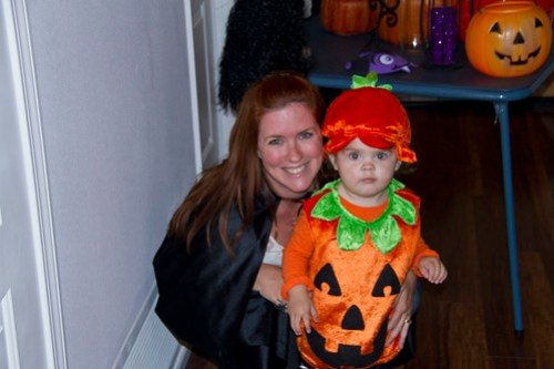 Mommy and Punkin Annie